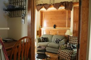 Spacious living areas mean you never have to leave the cabin.